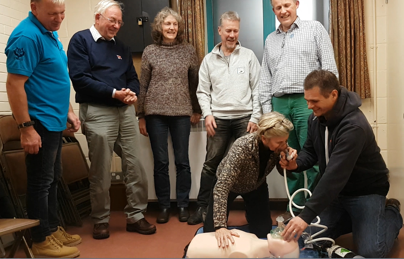 Oxygen enrichment  - Oxygen Admin and First Aid course Nov 2018